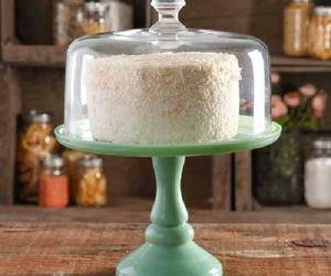 The Pioneer Woman Timeless Beauty 10-Inch Mint Green Cake Stand with Glass Cover, an item from the 'Life is a Cake and Love is the Icing on Top of it.' hand-picked list