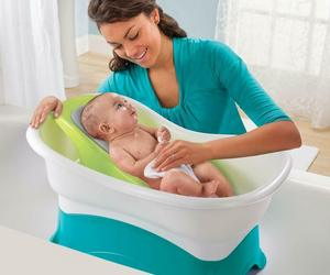 Raised Bath Center Large Tub Safe Newborn Support Bathing Convertible Set NEW, an item from the 'Community Picks: Shower Me With Love!' hand-picked list