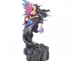 Light Up Fairy And Dragon Figurine, an item from the 'Community Picks: Believe in Mystical Magic' hand-picked list
