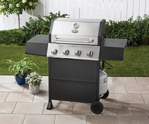 Expert Grill Griddle 4 Burner Propane Gas Outdoor Portable Cooking Station BBQ, an item from the 'Grill Power' hand-picked list