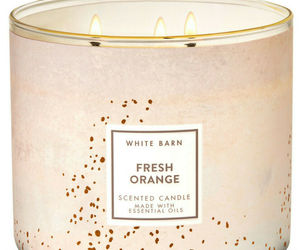 White Barn Fresh Orange Three Wick.14.5 Ounces Scented Candle, an item from the 'Hygge Life' hand-picked list