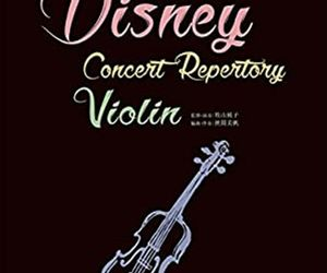 Disney Concert Advanced Repertory Violin Sheet Music Book w/CD Limited Version, an item from the 'Music Lessons' hand-picked list