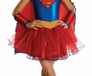 Kids' Supergirl DC Super Hero Tutu Dress Halloween Costume Medium 8-10 Rubie's, an item from the 'Kids Halloween Costumes' hand-picked list