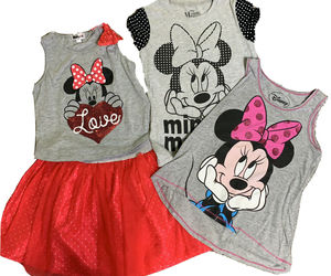 Disney Minnie Mouse Lot - Size 10/12, an item from the 'Spring Wear' hand-picked list
