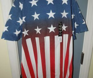 Urban Pipeline American Flag Short Sleeve Crew T-Shirt Size XL Boy's NEW, an item from the 'Flag Focused' hand-picked list