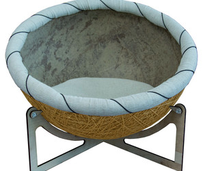 """Pet Bed Eco Chair-bed for pets  """"Nikolas"""" Yellow Bed for dog bed for cat, an item from the 'Community Picks: Pets are for Pampering' hand-picked list"""