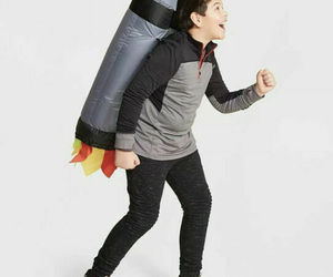 """Kids' Inflatable Jet Pack 34"""" Backpack Halloween Costume One Size Hyde & Eek, an item from the 'Kids Halloween Costumes' hand-picked list"""