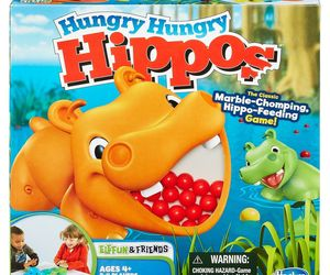 Hungry Hungry Hippos, an item from the 'Make it a Classic Family Game Night ' hand-picked list