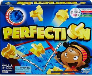 Hasbro Gaming Perfection Game, an item from the 'Make it a Classic Family Game Night ' hand-picked list