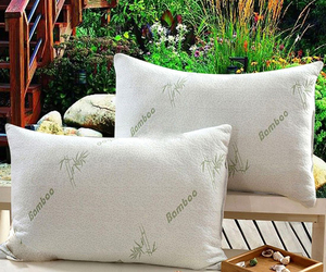 Comfortable New Hypoallergenic Organic Hotel Style Comfort Bamboo Memory Foam Pi, an item from the 'Hygge Life' hand-picked list