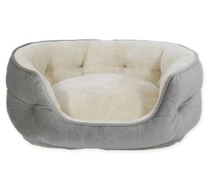 PAWSLIFE Memory Foam Pet Bed in Grey, an item from the 'Community Picks: Pets are for Pampering' hand-picked list