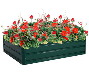 "47.5"" x 35.5"" Patio Raised Garden Bed Vegetable Flower Planter, an item from the 'Garden Tools' hand-picked list"