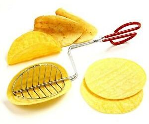 Taco Maker Press Fried Taco Shells Mold Crisp Deep Fryer Kitchen Tools Gadgets ., an item from the 'Every Day is Taco Tuesday if You Try Hard Enough' hand-picked list