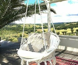 Knitted Hammock Chair Macrame Swing Indoor/Outdoor, 265LB Capacity - New, an item from the 'Cool Stuff' hand-picked list