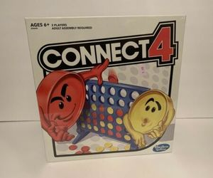 Connect 4 Four Kids Board Game Classic Family Fun Fast Easy Paced Toys New, an item from the 'Make it a Classic Family Game Night ' hand-picked list