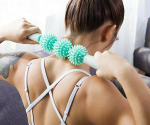 Anti Cellulite Roller Muscle Massage Stick Massager Trigger Point Stick Therapy, an item from the 'Self Care' hand-picked list