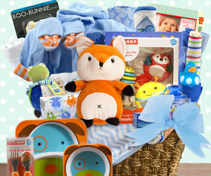 Grand Welcome: Baby Boy Gift Basket, an item from the 'Community Picks: Shower Me With Love!' hand-picked list