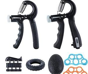 Ufree Grip Strength Trainer 7 Pack Hand Grip Strengthener Forearm Workout Hand S, an item from the 'Fitness Focus' hand-picked list