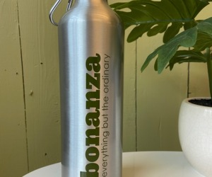 富矿24 oz Aluminum Water Bottle, an item from the 'Bonanza Swag' hand-picked list