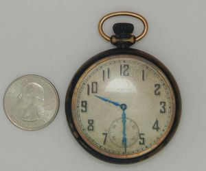 Antique 1883-1895 American Elgin Pocket Watch 413408, an item from the 'Watch It!' hand-picked list