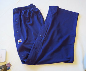 Mens The Rock XL Basketball pants active disabled nursing home snap up sides, an item from the 'Adaptive clothing for disabilities' hand-picked list