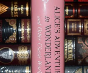 Alice's Adventures in Wonderland Classic Works by Lewis Carroll New Hardcover, an item from the 'We're All Mad Here' hand-picked list