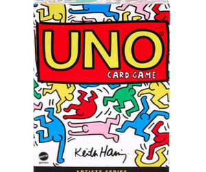 UNO Artiste Series 2 KEITH HARING 112 Card Game Deck Deluxe Box Set BRAND NEW, an item from the 'Keith Haring' hand-picked list