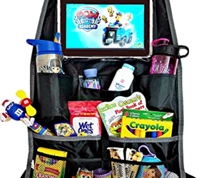 Car Organizer Accessories Backseat Back Seat Hanging i Pad Tablet Holder Travel, an item from the 'Travel Organizers' hand-picked list