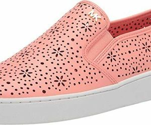MICHAEL Michael Kors Kane Perforated Slip-On Sneakers Size 7.5, an item from the 'Summer Sneaks' hand-picked list