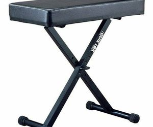 Quik Lok Large Keyboard Bench with Thick Cushion - BX-14-U, an item from the 'Music Lessons' hand-picked list