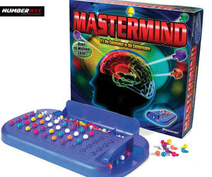 MASTERMIND Pressman Board Game Best Classic 2009 Codemaker vs. Codebreaker NEW, an item from the 'Make it a Classic Family Game Night ' hand-picked list