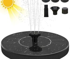 16/13cm Solar Powered Fountain Pump Garden Pool Pond Submersible Floating Solar, an item from the 'Ponds and Water Features' hand-picked list