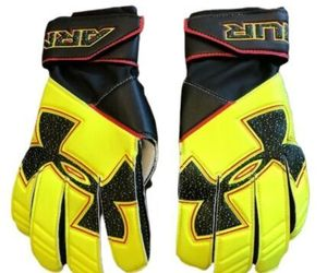 Under Armour Youth Boys UA Challenge Soccer Goalkeeper Gloves 5 Yellow NEW, an item from the 'Youth Soccer Gear' hand-picked list