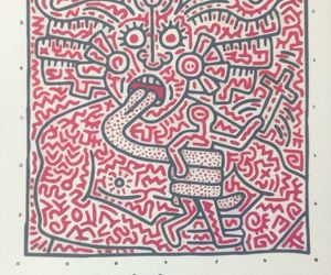 基思·哈林(Keith Haring) (Matisse, Salvador Dali, Warhol, Picasso, Miró, Banksy, tommy), an item from the 'Keith Haring' hand-picked list