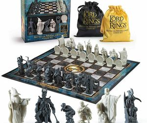 LOTR Chess Set: Battle for Middle-Earth Officially Licensed NIB/Sealed, an item from the 'Community Picks: Rad Dad' hand-picked list