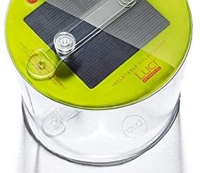 MPOWERD Luci Outdoor 2.0: Solar Inflatable Light, an item from the 'Camping Gear' hand-picked list