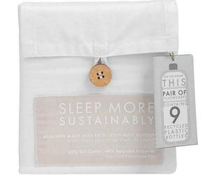 Bedding recycled sustainable eco friendly sheets pillowcases, an item from the 'Go Green' hand-picked list