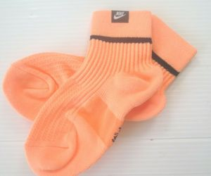 Nike SNKR SOX Ankle Socks 1 Pair - SK0262 - Peach Coral - Size S - NEW, an item from the 'Community Picks: Just Peachy' hand-picked list