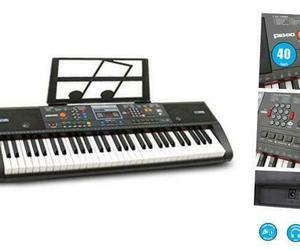 61-Key Digital Electric Piano Keyboard & Sheet Music Stand - Portable, an item from the 'Music Lessons' hand-picked list