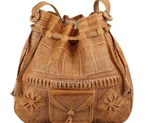 Moroccan Boho Leather Bag, Satchel Bag, Leather Handbag, Leather Boho Bag, an item from the 'Boho Mom' hand-picked list