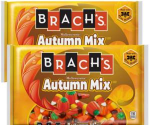 Brach's Autumn Mix Candy Corn Halloween Candy Pumpkins Fall 14 oz Lot of 2, an item from the 'Halloween Treats' hand-picked list