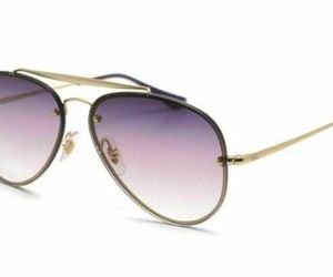 Ray Ban Aviator Sunglasses RB3584N 91400U 58 Gold/Blue Gradient Mirror Italy, an item from the 'Stylish Sunnies' hand-picked list