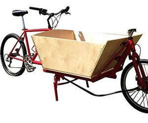 Cargo Bike Plans DIY Cycle Truck Cycling Bicycle Luggage Shopping Cart Carrier, an item from the 'Earth Day... Recycle, Reuse, Reduce' hand-picked list