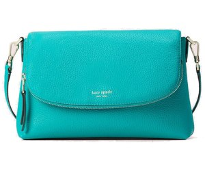 Kate Spade New York Womens Polly Large Crossbody Fiji Green Convertible Leather , an item from the 'Handbags for Her' hand-picked list