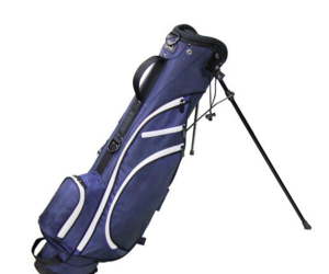 "RJ Sports Typhoon II NAVY Mini Stand Golf Bag with 6"" Top for Men or Women, an item from the 'Golf Essentials' hand-picked list"