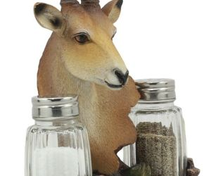 African Kalahari Grassland Kudu Antelope Salt And Pepper Shakers Holder #GFT02, an item from the 'Community Picks: Invite An Animal to Your Table' hand-picked list