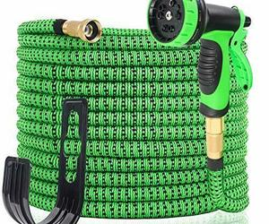100FT Expandable Garden Hose - Gardening Flexible Hose with Free 10 Function, an item from the 'Garden Tools' hand-picked list