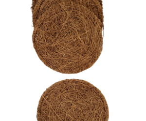 Coconut Coir Scrub Pads     Pack of 4 by Modern Alchemy, an item from the 'Go Green' hand-picked list