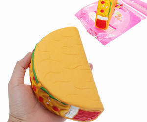 14.5cm Squishy Taco Slow Rising Soft Collection Gift Decor Toys, an item from the 'Every Day is Taco Tuesday if You Try Hard Enough' hand-picked list