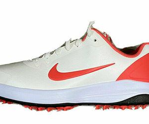 New Nike Infinity G Spiked Golf Shoes Sail Magic Ember Men Size 7.5 CT0531-104, an item from the 'Golf Essentials' hand-picked list